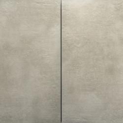 Sense Beige Ceramica 60x60x3 Soft Grey staat op de verpakking voorraad Addie Aanbiedingen