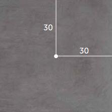*GeoCeramica In-Lite Ready Gat 22 mm Positie 22A Keramische tegels