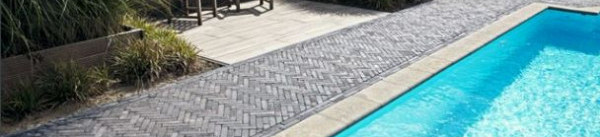 Zwembad tegels