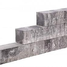 Lineablock Gothic 15x15x45 Strak muurelement, ongetrommeld Stapelblokken