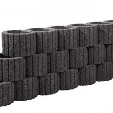 Beplantbare resupor elementen Zwart 20x30x20 Cirkelflor mini Bloembakken
