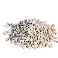 Carrara rond 25 kg Wit 12-16 mm Grind en Split