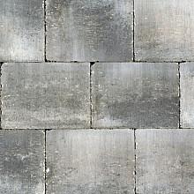 Abbeystones Grijs/zwart 20x30x6 eerst voorraad informeren bij Addie Stenen en klinkers