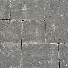 Abbeystones Nero Wildverband Stenen en klinkers