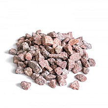 Graniet split 25 kg Rood-bont 8-16 mm Grind en Split