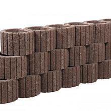 Beplantbare resupor elementen Bruin/rood 38x48x30 Cirkelflor groot Bloembakken