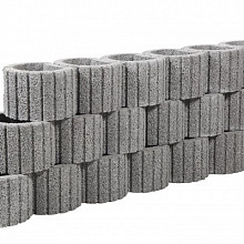 Beplantbare resupor elementen Grijs 38x48x30 Cirkelflor groot Bloembakken
