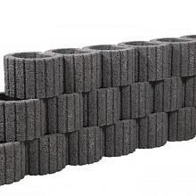 Beplantbare resupor elementen Zwart 38x48x30 Cirkelflor groot Bloembakken