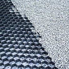 Grindplaat/splitplaat Met vilt 120x80x2,5 Grindplaten
