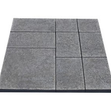 Oud Hollands wildverband Antraciet Wildverband 50x50 (1x), 25x50 (2x), 25x37,5 (4x), 25x25 (2x) Beton tegels