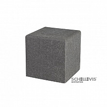 Oud Hollands zitelement Carbon 50x50x50 Vierkant Meubels
