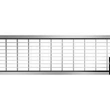 Maasrooster verzinkt staal 100 30/10 Hexaline 2.0 en Euroline Goten