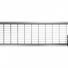 Maasrooster RVS 50 30/10 Hexaline 2.0 en Euroline Goten