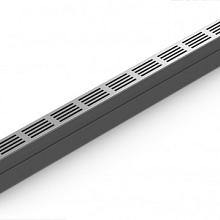 SlimLine 6,1x100x10 Gootelement inclusief aluminium rooster Goten