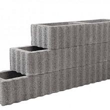Beplantbare resupor elementen Grijs 30x40x25 Kubusflor Bloembakken