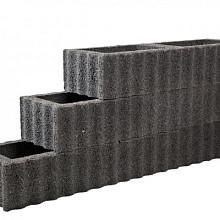 Beplantbare resupor elementen Zwart 30x40x25 Kubusflor Bloembakken