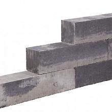 Blockstone small Gothic 12x12x60 Gehamerd muurelement Stapelblokken