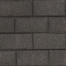 BSS Betonklinker door&door 10,5x21x8cm Antraciet 48st/laag Beton tegels