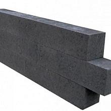 Patioblok Antraciet 30x15x15 Strak Stapelblokken