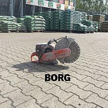 Borg betonzaag met expansievat / bandenzaag Verhuur