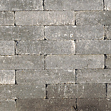 Abbeystones Grijs/zwart 5x20x7 Stenen en klinkers