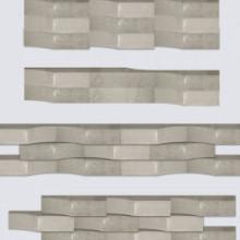Linia Excellence Wave Graniet grijs 15x15x60 Stapelblokken