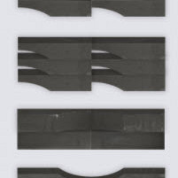 Linia Excellence Wave Nero 15x15x60 Stapelblokken