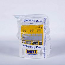 *Onkruidarm voegzand Steengrijs 20 kg Voegmortels, lijmen en onderhoudsmiddelen